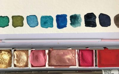 My Summer Watercolor Palette