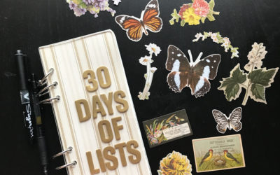 September's 30 Days of Lists